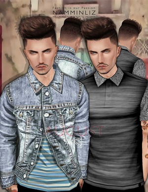 August Set 4  •Two Tops imvu Textures