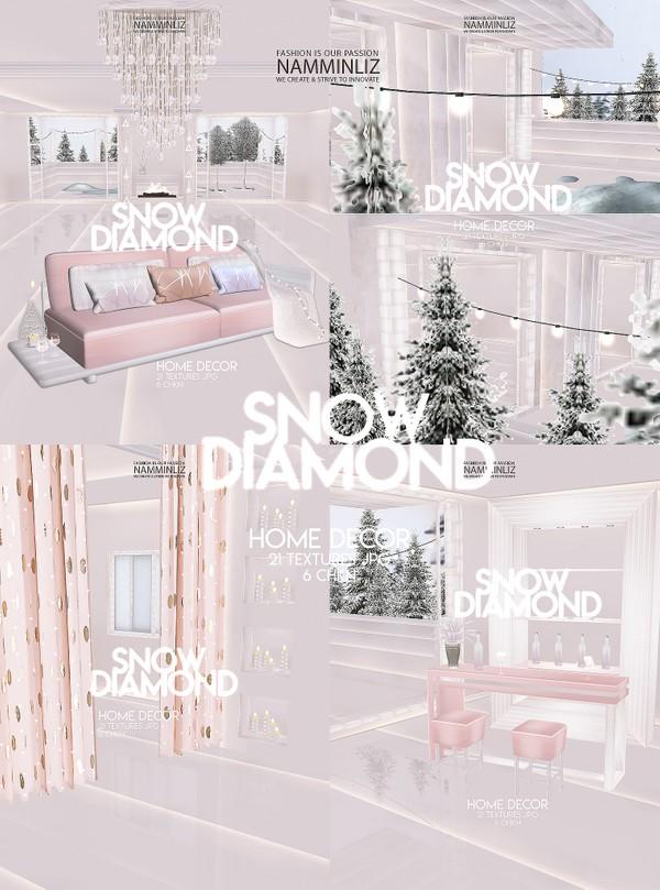 Snow Diamond Home decor 21 Textures JPG 6 CHKN
