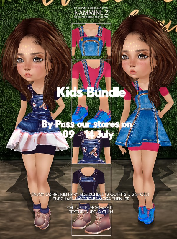 By Pass our stores on 09 to 14 August to get a complimentary Kids Bundle texturesJPG 4 CHKN