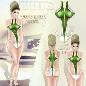 Christmas lingerie generation combo 3
