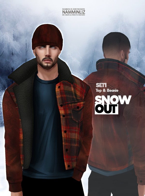 Snow Out SET1 Tops Beanie Textures JPG 2 CHKN