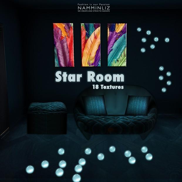 Star Room 18 Textures Home Decor