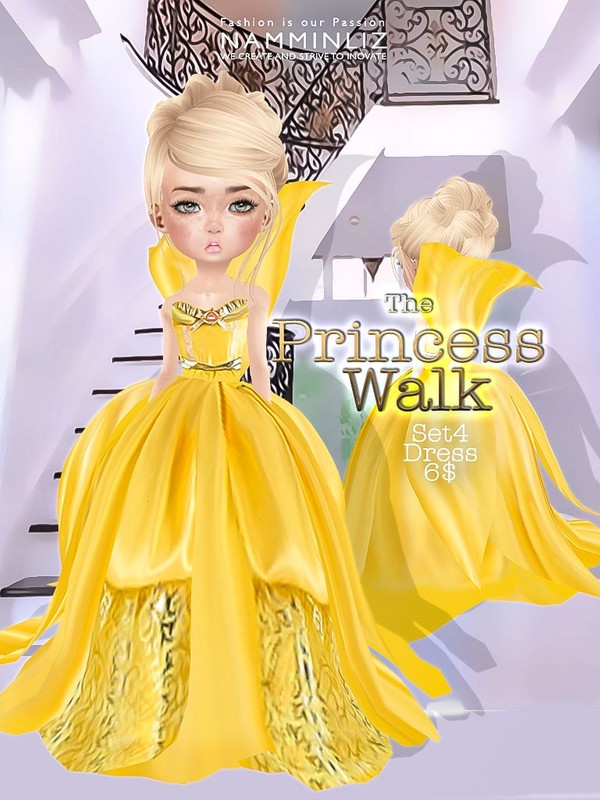 The Princess walk SET4 imvu Texture JPG delure