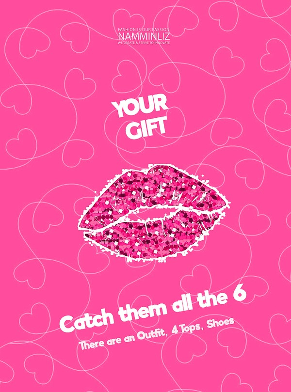 ♥ YOUR GIFT 1 ♥ Catch them all the 6