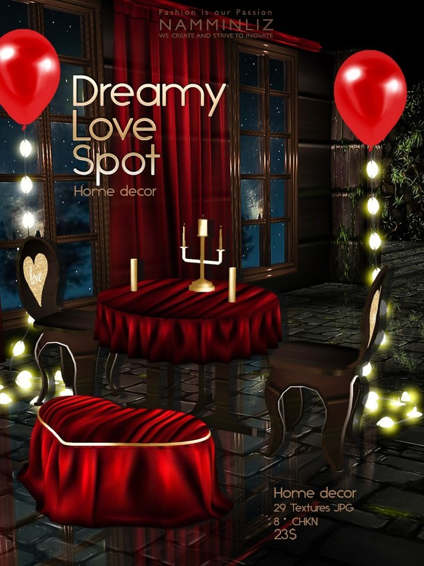 Dreamy Love Spot Home decor 29 Textures JPG 8*.CHKN