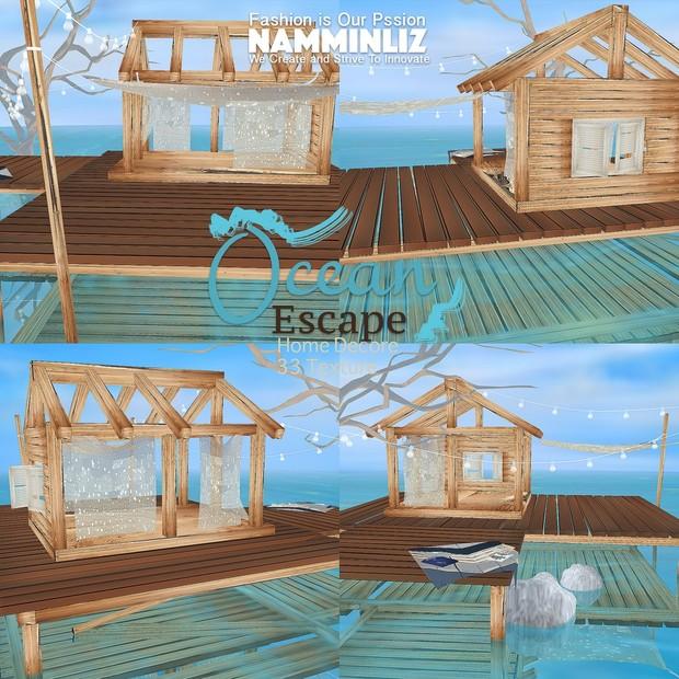H O M E Ocean Escape Home Decor 33 Textures Limited to 4