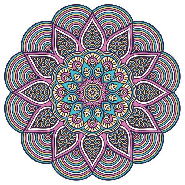 Mandala Flow ~ All the Poses