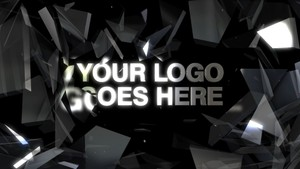 Glass Intro  - After Effects template