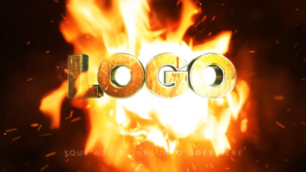 Fire Intro - After Effects Template