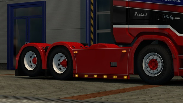 Custom sidekirt for SCS Scania Nextgen (Euro truck simulator)