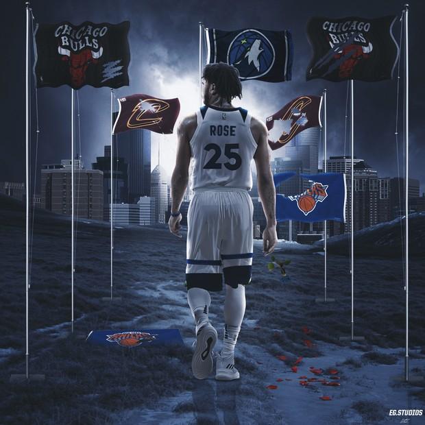 Derrick Rose Timberwolves