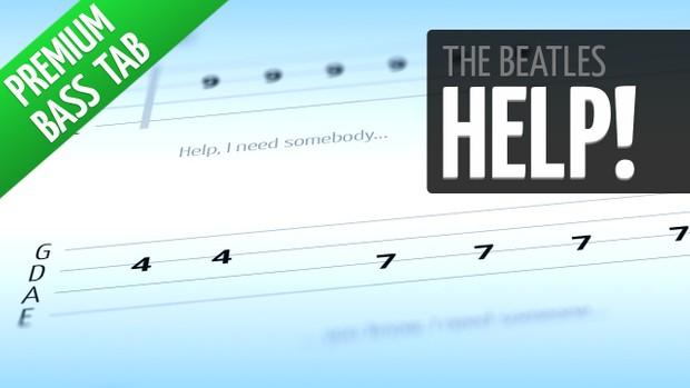 Help! (Premium Bass Tab)