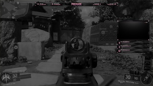 Black & Pink Twitch Overlay