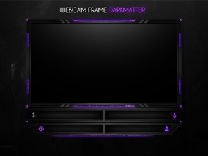 Webcam Frame Darkmatter