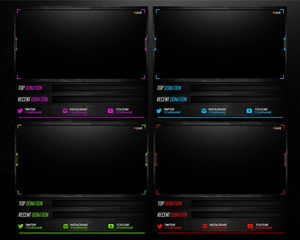 Webcam Frame Twitch Stream