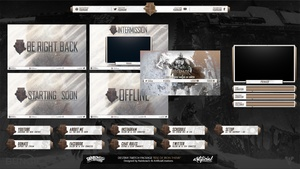 Destiny - Rise of Iron Twitch Package