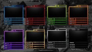 Webcam Overlay Multi colors