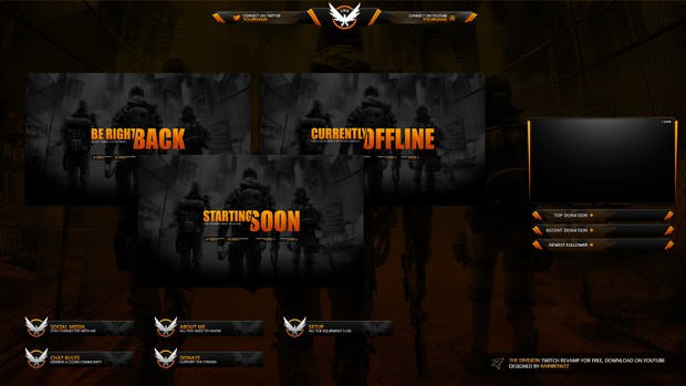 The Division Twitch Stream Package