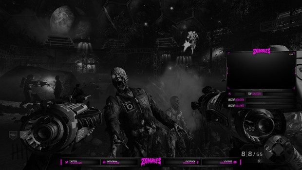 Twitch Package Zombies Theme