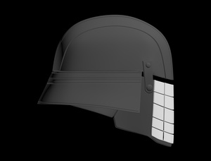 Knights of Ren - Grenade Face Helmet