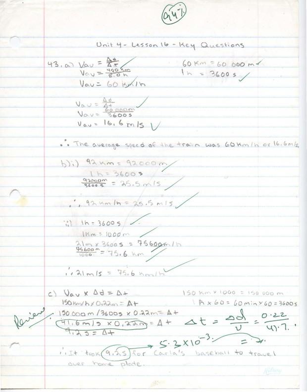 SNC 2DA Grade 10 Academic Science - Unit 4 - 94% - Adriax's Study Guides