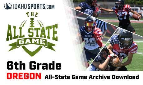 2020 OREGON 6th Grade All-State Football