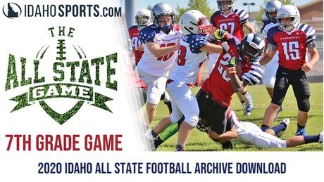 2020 7th Grade All-State Football (Idaho)