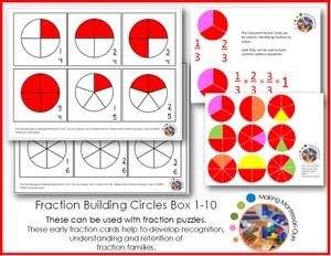 Montessori Fractions Builder