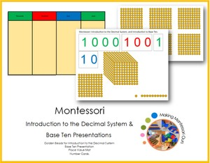 Introduction to the Decimal System and Base Ten
