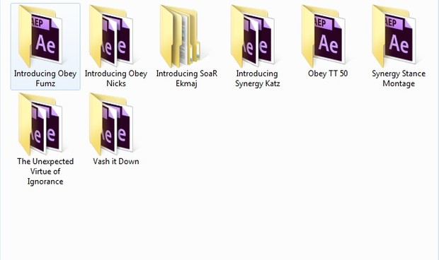 Huge Project Files Pack