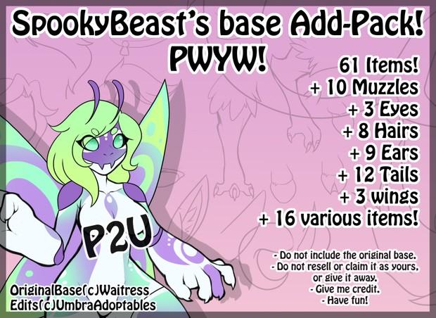 SpookyBeast's Base Add-on!