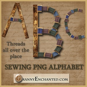 Granny Enchanted's Sewing Alphabet