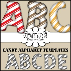 173 Candy Alpha Templates CU/PU/S4H