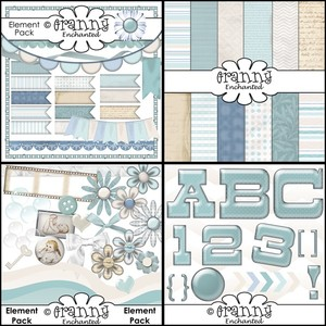 Granny Enchanted's February Digital Scrapbook Bundle