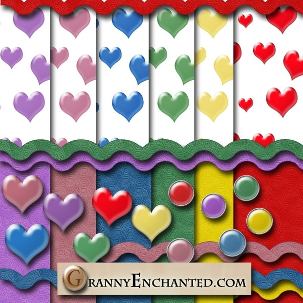 Beveled Heart Kit from Granny Enchanted