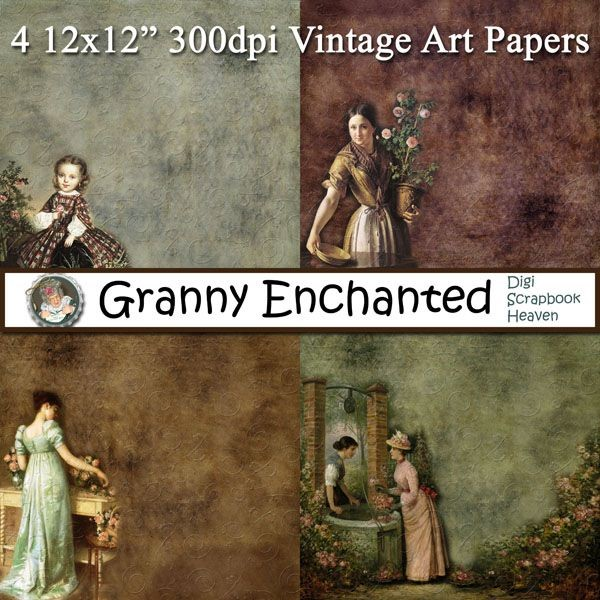 Vintage Art Papers