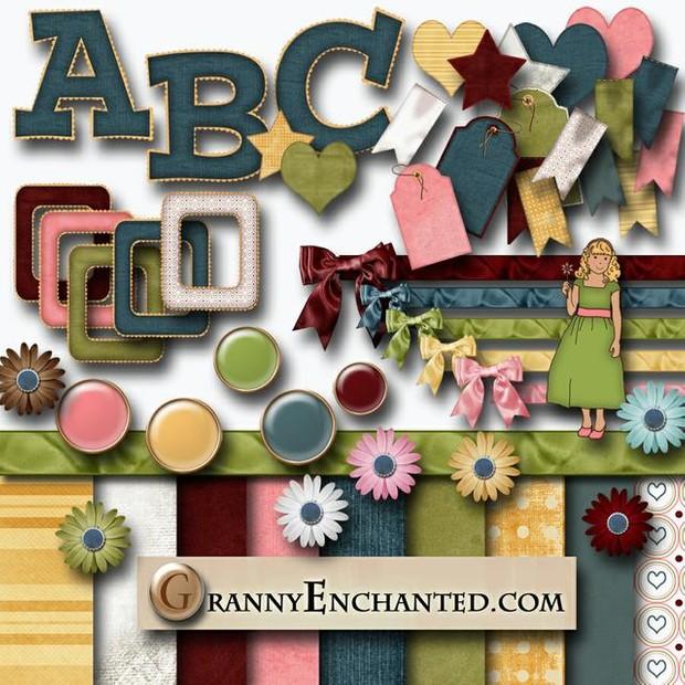 Granny Enchanted's Denim Dreams - Kit 41