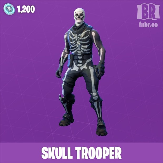 skull trooper fortnite account