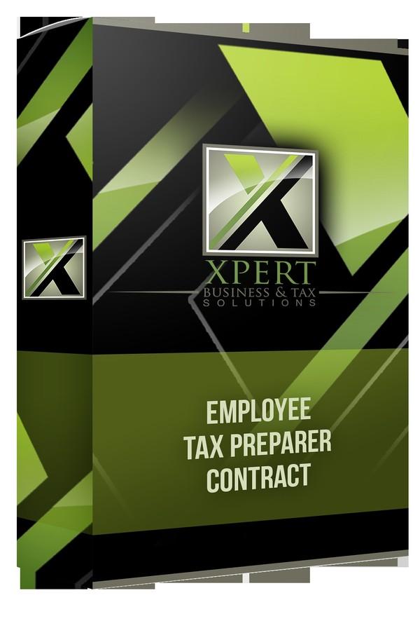 Employee Tax Preparer Contract