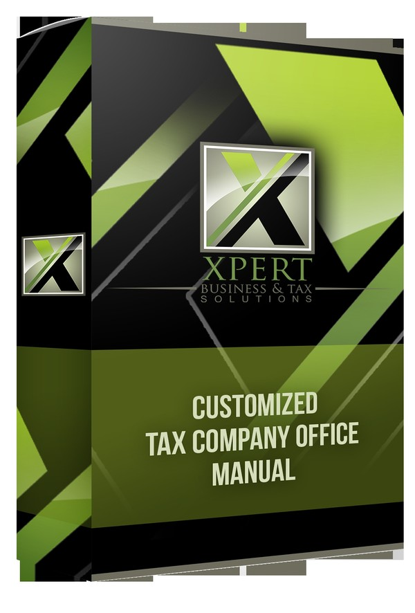 Customized Tax Company Office Manual