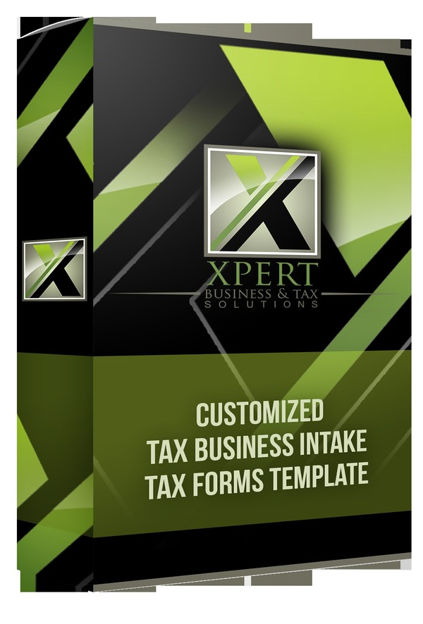 Customized Tax Business Intake Tax Forms Template