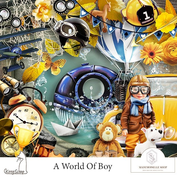 A world of boy