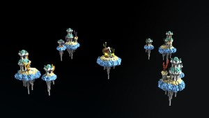 Bedwars Map - Atlantis   Minecraft