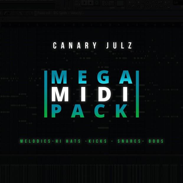CJ's Mega MIDI Pack : MIDI Melodies & Drums