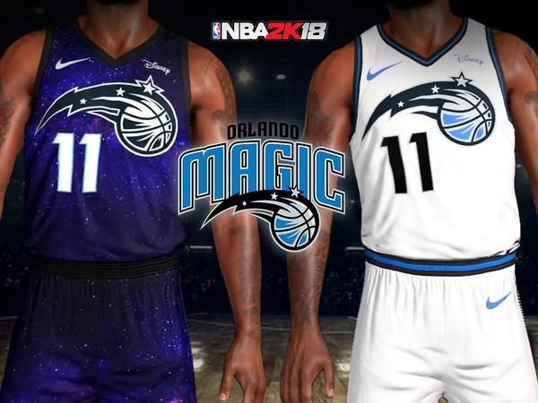 big sale b0846 e7c5d Orlando Magic City Lights Jersey + Arena