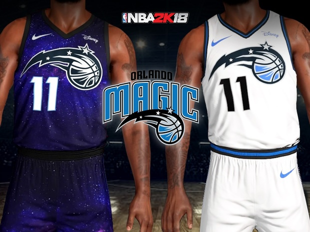 ace6363a8e4 Orlando Magic City Lights Jersey + Arena - clarkestarks