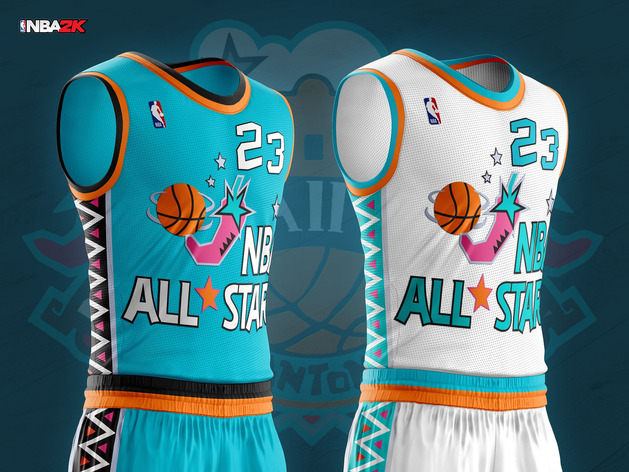 1996 NBA All Star Jersey \u0026 Arena
