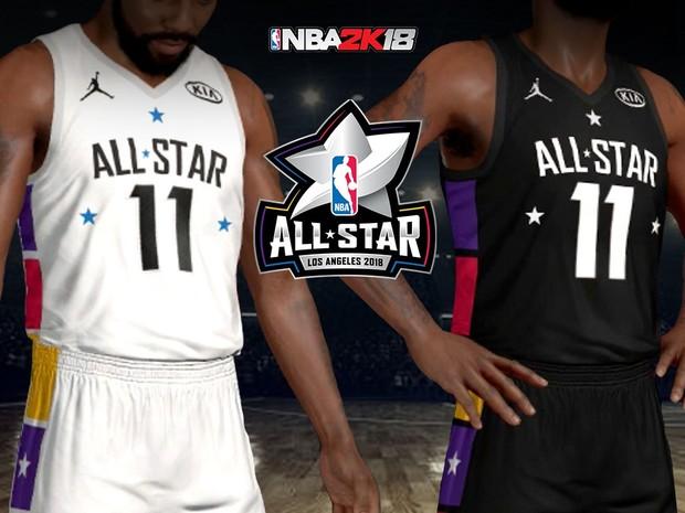 ecc06bdc384 2018 NBA All Star Jersey   Arena - clarkestarks