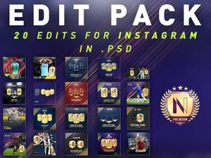 FIFA 18 EDIT PACK [FOR INSTAGRAM]