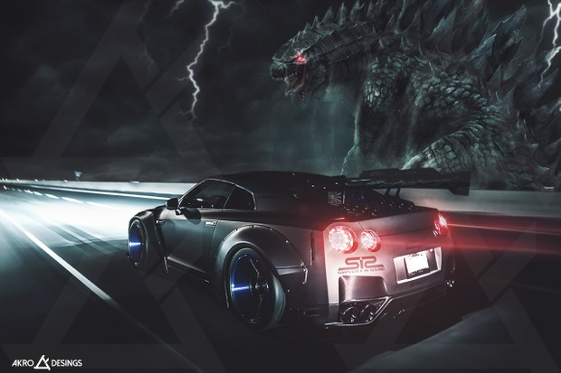Gtr R35 Godzilla Wallpaper Hd Akro Desings